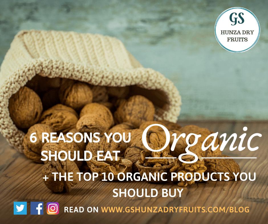 6 Reasons you should eat Organic